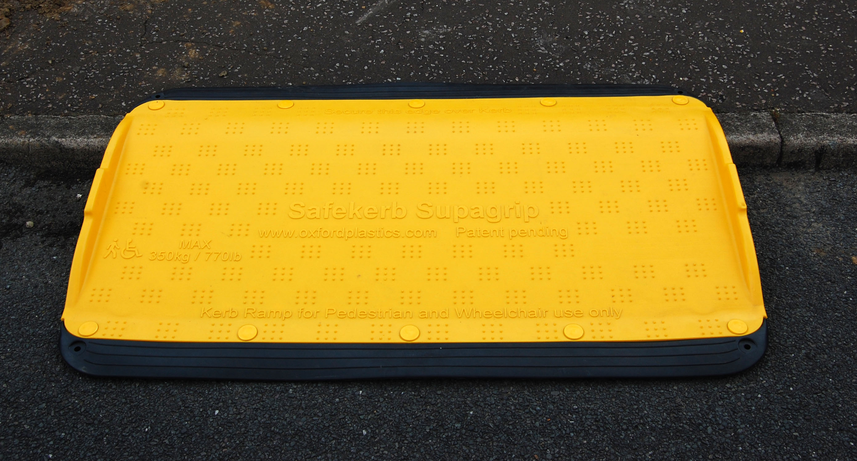 SupaGrip SafeKerb Wheelchair Ramp